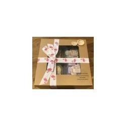 Wax Button Pot Gift Set