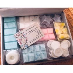 Linen scents mixed wax box