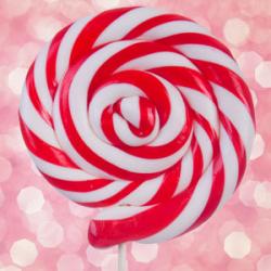 Candy Cane Wax Button Melts