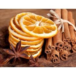 Spiced Orange Wax Button Pot